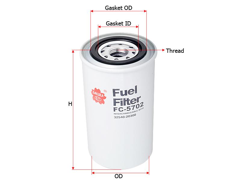 Sakura Filter FC-5702 | Sakura Filter