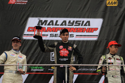 Sakura - Tedco Racing Team Sweeps Round 1 of Malaysia Championship Series