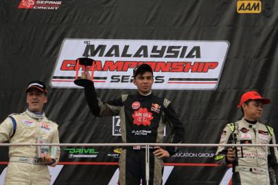 Sakura - Tedco Racing Team Sweeps Round 1 of Malaysia Championship Series
