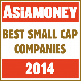 Indonesia Best Managed Company for Small Cap Corporate at Asiamoney Summer Awards 2014