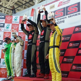 Once Again, Team Sakura-Tedco Racing won 1st position in Round 3 The MSS 2014!