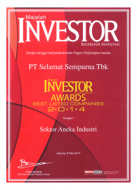 Best Listed Company 2014 in Diversified Manufacturing Sector