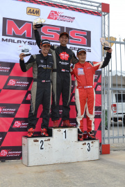 Team Sakura-Tedco Racing took 1st position in Round 1 Malaysian Super Series (MSS) 2014