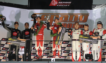 Sakura Racing Filter Team's took 2nd and 4th place in the 2013 Sepang 1000KM Endurance Race!