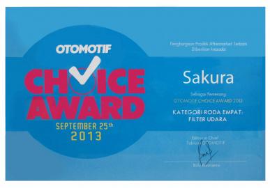 Otomotif Choice Award 2013