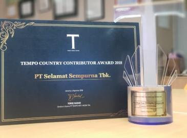 Tempo Country Contributor Award 2018