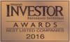 "Best Listed Companies - Best Listed Companies 2016 in ""Diversified Manufacturing Sector"""