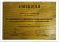 Isuzu - Award for delivery