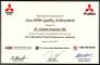 Mitsubishi - Zero PPM Quality Achievement